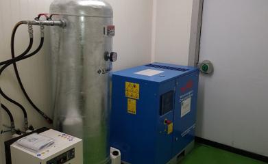 Compresseur d'air à vis lubrifiée image 2
